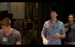 brooks top hat