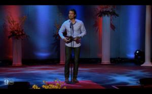 Brooks singing