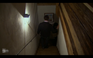 Michael going to the dungeon