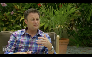Disgusted Chris Harrison