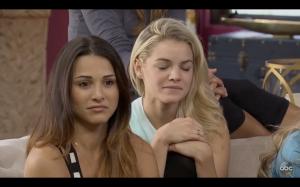 Nikki can't watch