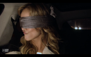 Clare blindfolded 2