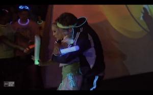 Juan Pablo dancing