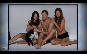 Andi, Juan Pablo and Lucy naked