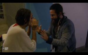 Elan yelling at Victoria