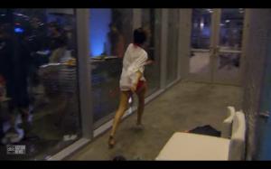 Victoria runs away like a drunk asshole