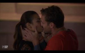 Juan Pablo bites Sharleen's lip