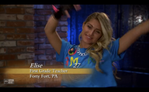 Elise dancing