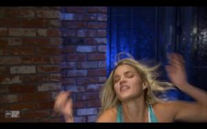 Nikki imitating Kat