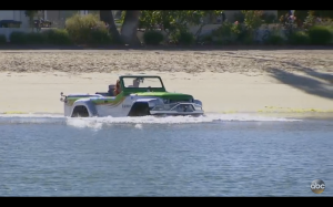 Water jeep